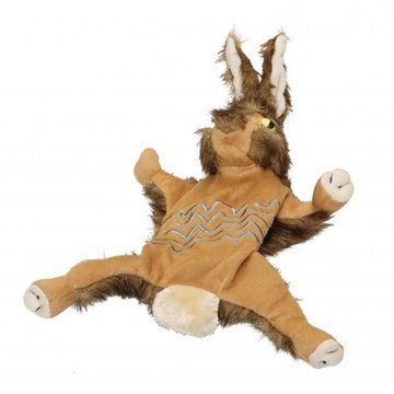 Forest Critters Plush Rabbit Dog Toy