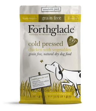Forthglade Cold Pressed Grain Free Dry Dog Food Chicken