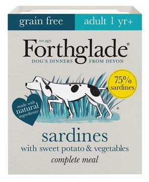 Forthglade Complete Sardines with Sweet Potato Adult Grain Free Dog Food
