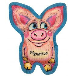 Fuzzu Crinkle Ears Pignatios Dog Toy