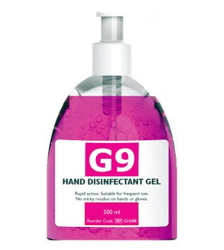 G9 Alcohol Hand Disinfectant Gel
