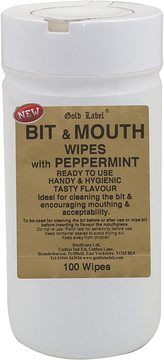 Gold Label Bit & Mouth Wipes