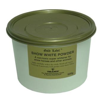 Gold Label Show White Powder for Horses