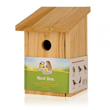 Harrisons Wooden Nest Box Standard Front Opening