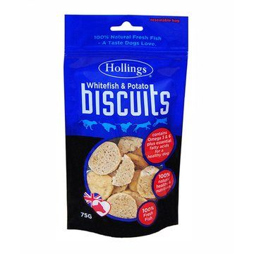 Hollings Fish & Potato Dog Biscuits