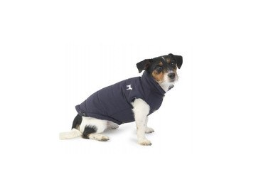 House of Paws Navy Fleece Lined Dog Gilet