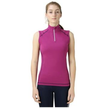 Hy Sport Active Amethyst Purple Sleeveless Top