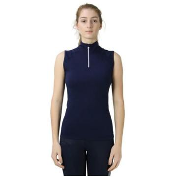 Hy Sport Active Midnight Navy Sleeveless Top