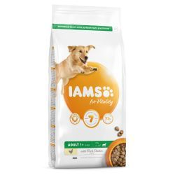 IAMS for Vitality Large Breed Adult Dog Food with Fresh Chicken