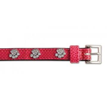 Indulgence Crock Leather Collar Sparkly Paw