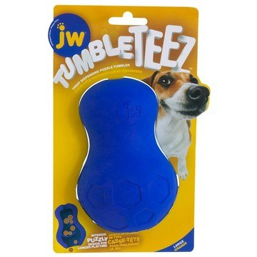 Jw Tumble Teez Treat Toy Blue