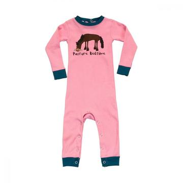 LazyOne Girls Pasture Bedtime Infant Sleepsuit