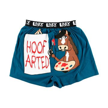 LazyOne Hoof Arted Mens Boxer Shorts