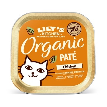Lily's Kitchen Complete Organic Chicken Paté Cat Food