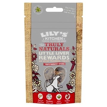 Lily's Kitchen Truly Natural Little Liver Rewards Dog Treats