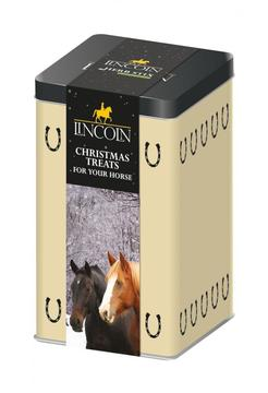 Lincoln Christmas Horse Treats Tin