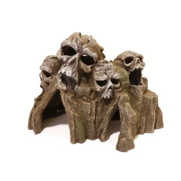Rosewood Blue Ribbon Medium Skull Mountain for Aquariums