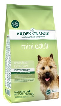 Arden Grange Mini Adult Rich in Fresh Lamb and Rice Dog Food