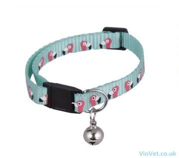 Ministry Of Pets Flamingo Adjustable Collar