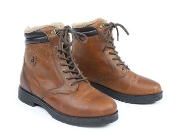 Moretta Ladies Ottavia Country Boots Brown