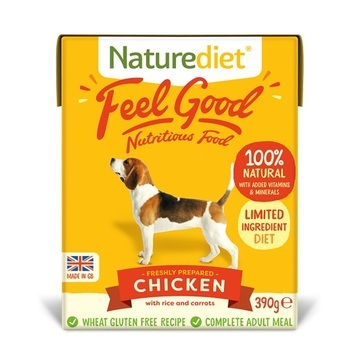Naturediet Feel Good Chicken Dog Food