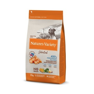 Nature's Variety Selected Salmon Dry Mini Adult Dog Food