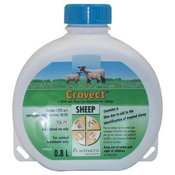 Crovect Prevention Of Blowfly Sheep Pour On
