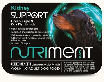 Nutriment Support Range Raw Dog Food