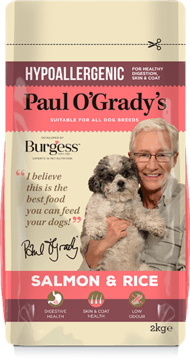 Paul O'Grady Salmon & Rice Dog Food