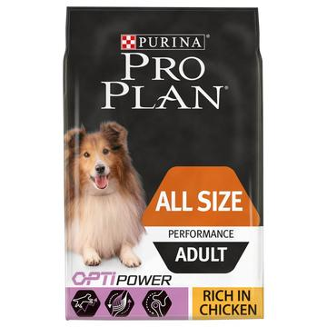 PRO PLAN Optipower Performance Adult Dry Dog Food Chicken