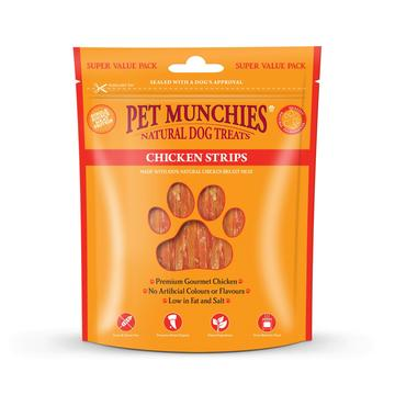 Pet Munchies Natural Dog Treats Chicken Strips