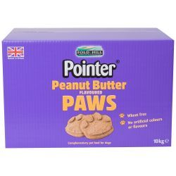 Pointer Peanut Butter Paws