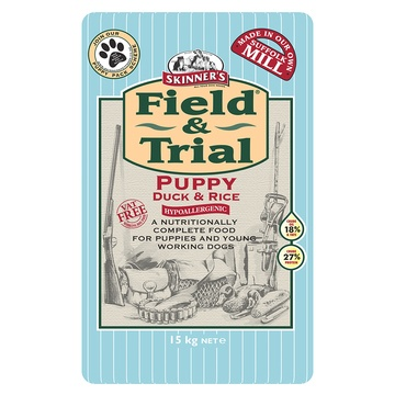 Skinner's Field & Trial Puppy Duck & Rice Dog Food