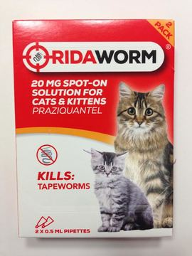 Ridaworm Cat Wormer