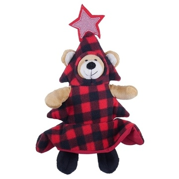 Rosewood Cupid & Comet Bauble Bear Dog Toy
