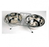 Rosewood Stainless Steel Wire Double Diner Bowl