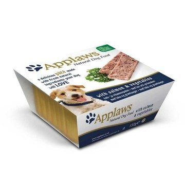 Applaws Pâté With Salmon & Vegetables Dog Food