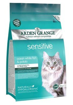 Arden Grange Sensitive Fish & Potato Grain Free Cat Food