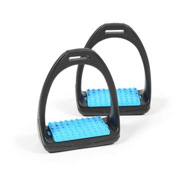Shires Compositi Reflex Stirrups Baby Blue