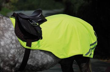 Shires EQUI-FLECTOR Mesh Exercise Sheet Yellow