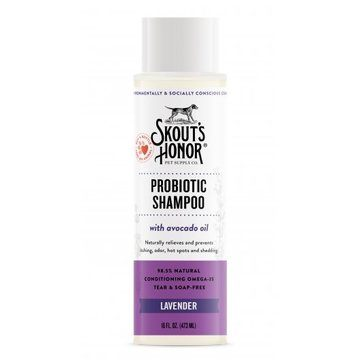 Skout's Honor Probiotic Shampoo Lavender For Dogs