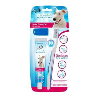 Sparkles Combo Pack Brush Finger Brush & Toothpaste