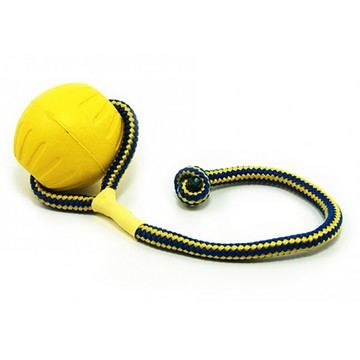 Starmark Swing & Fling Foam Ball Dog Toy