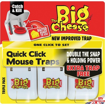 The Big Cheese Quick Click Mouse Trap