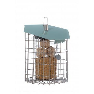 The Nuttery Contemporary Hexihaus Fatball/suet Block Wild Bird Feeder