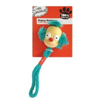 The Simpsons Ropey Retriever Dog Toy