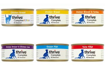 thrive Complete 100% Cat Food