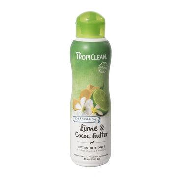 TropiClean Lime and Cocoa Butter De-Shedding Conditioner