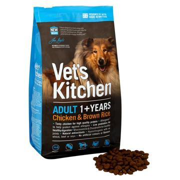 Vet's Kitchen Chicken & Brown Rice Adult 1+ complete dry dog food