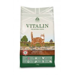 Vitalin Natural Chicken Adult Cat Dry Food